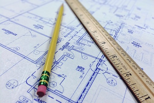 blueprint for house building
