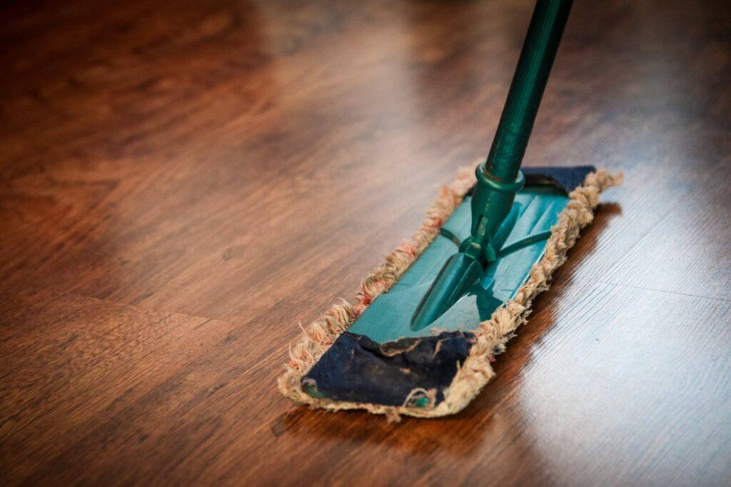 wood grain filler on the floor