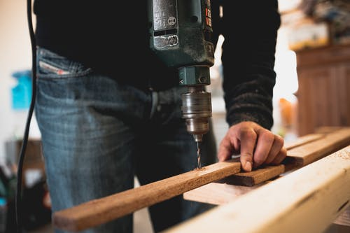 wood to build a house in one week